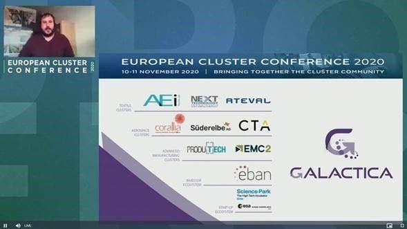 AIE Tèxtils a la European Cluster Conference 2020